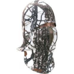 """Шлем-маска """"Зима"""" (белый лес)"""